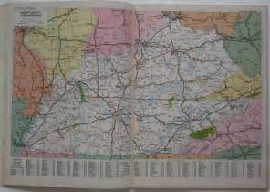 united states map atlas 1984 rand mcnally road atlas united states highway maps