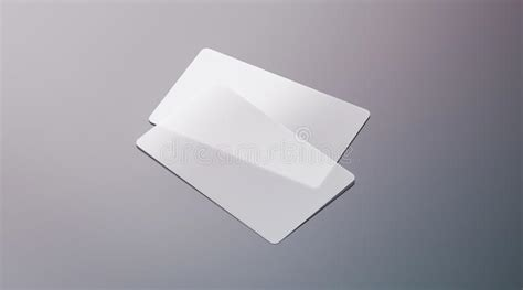 free plastic business card templates blank plastic transparent business cards mock up stock