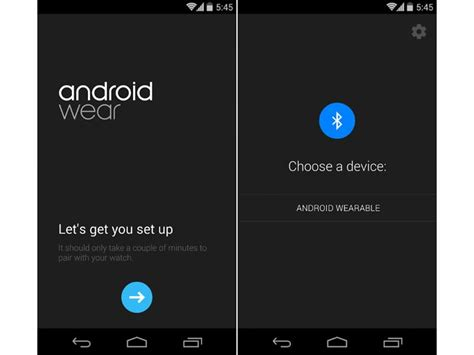 official android app store posts official android wear app in play store phonedog
