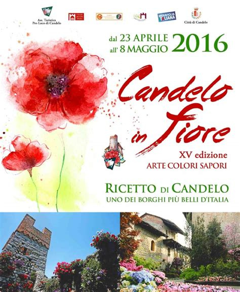 candelo eventi biglietti per candelo in fiore