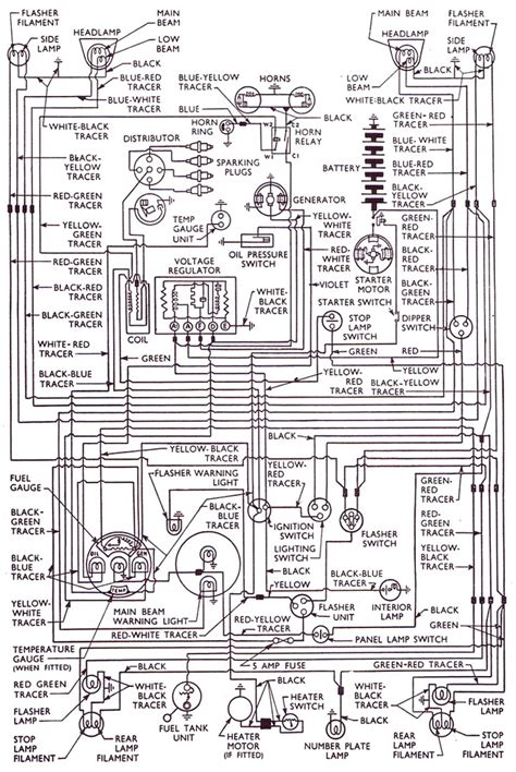 ford 5000 electrical diagram ford free engine image for