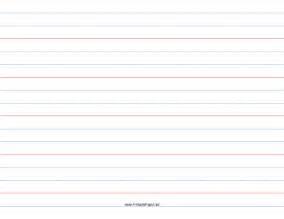 printable 1 rule 1 2 dotted 1 2 skip handwriting paper