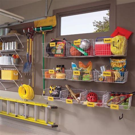 diy garage storage projects ideas decorating your - Your Garage Organizer