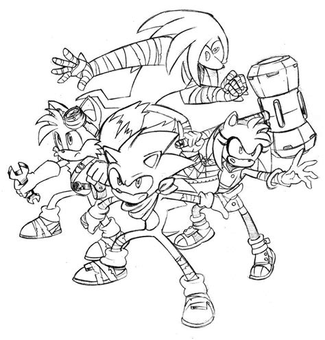 sonic boom coloring pages related keywords suggestions