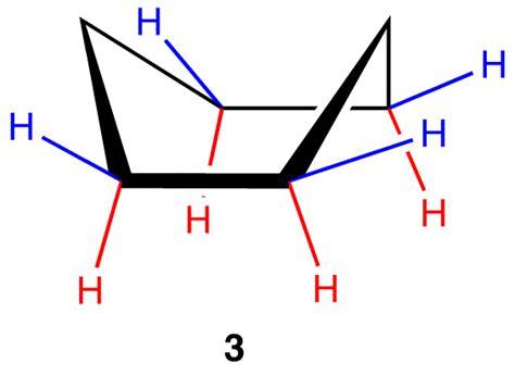 Chair Cyclohexane by Boat Conformation Ochempal