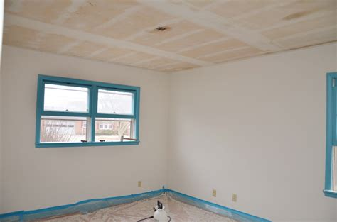 Scraping Painted Popcorn Ceilings by How To Scrape Painted Popcorn Ceilings And Baby Room Update Warfieldfamily