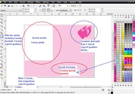 membuat kartu ucapan valentine sendiri tutorial membuat kartu ucapan valentine teknik komputer