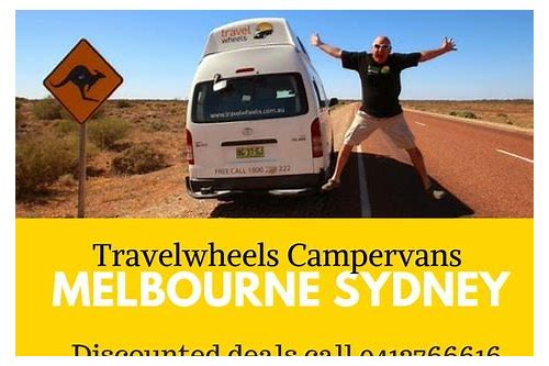 campervan hire deals sydney
