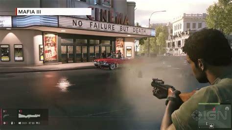 Original Xbox One For Honor Dan Mafia 3 Ign India Opinion The Era Of The Open World Mafia Iii