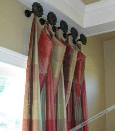how high to hang curtain holdbacks 1000 images about curtains on pinterest valances