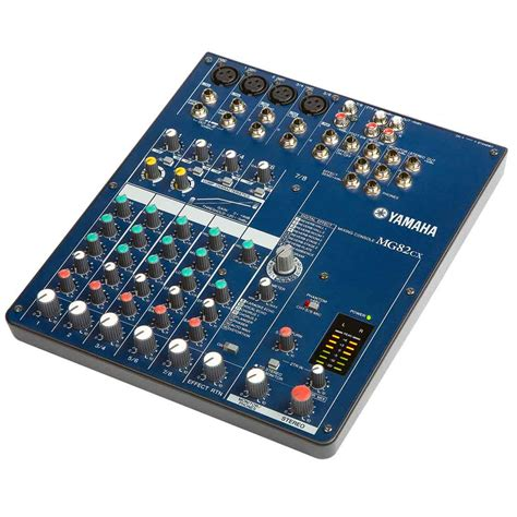 Mixer Yamaha Penguat Mic Yamaha 8 Potensio yamaha mg82cx 8 input stereo mixer with digital effects musical instruments
