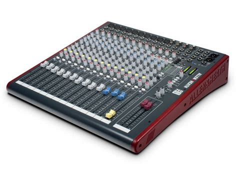 Mixer Allen Heath Zed 16fx allen heath zed 16fx 16 channel live recording mixer