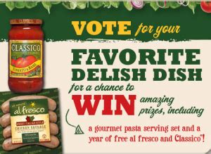 Vote For Your Favourite Bag Of 2007 by Al Fresco Vote For Your Favorite Delish Dish Sweepstakes