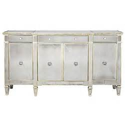 Mirrored Buffet Tables Mirrored Buffet Glamorous Borghese Buffet Z Gallerie