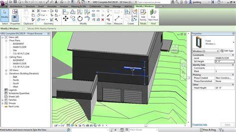 video tutorial revit architecture 2013 revit architecture 2013 tutorial add and edit windows