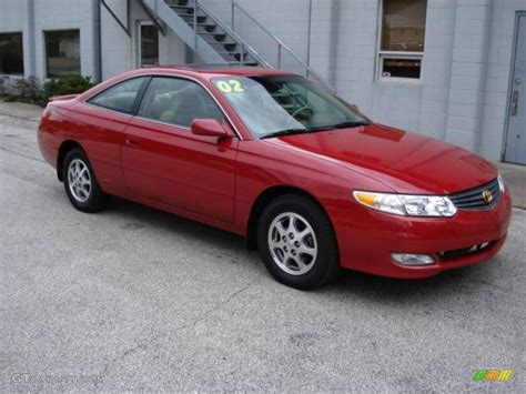 2002 Toyota Solara 2002 Toyota Solara I Coupe Pictures Information And