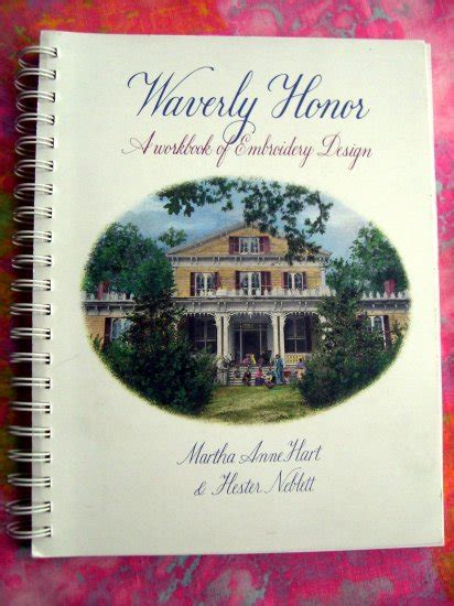 hart of honor a danielle hart novel books sold waverly honor a workbook of embroidery design by