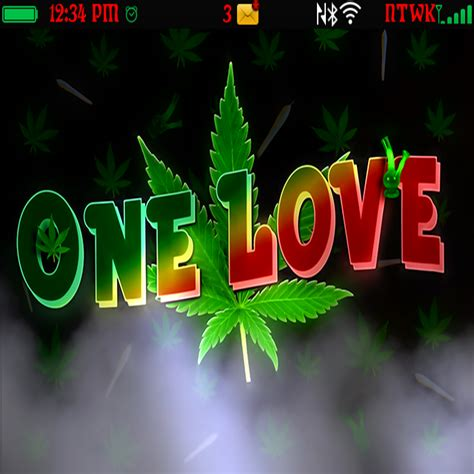 blackberry themes weed gallery for gt one love weed wallpaper