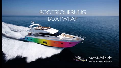 boat r follies boot und yachtfolierung boatwrap maritime folie by