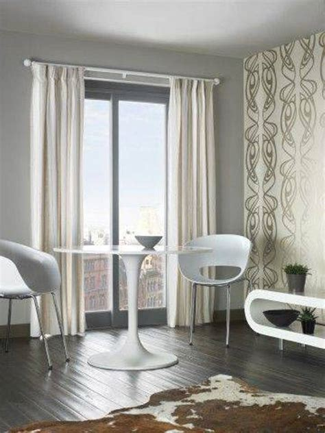 Curtains High Ceiling Decorating Interior Minimalist Decorating Ideas Of High Ceiling Window Treatments Using A Curtain Rod And