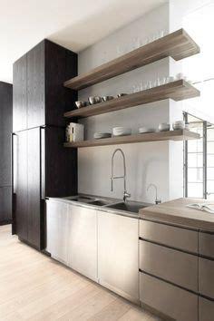 modern kitchen shelving deco kitchen on modern kitchens open shelving