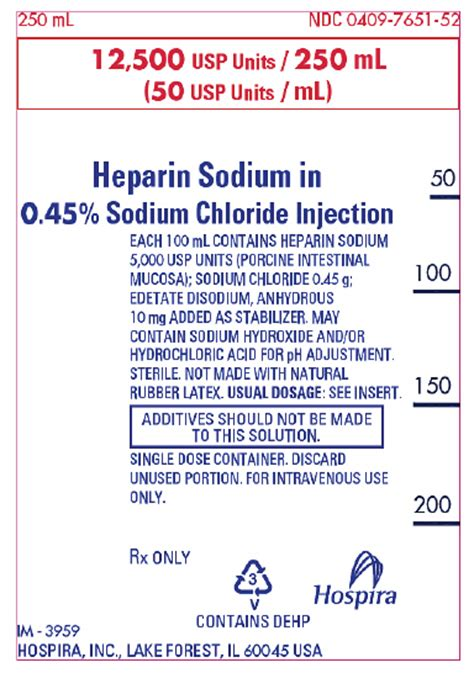 Inviclot Heparin Sodium Injection heparin fda prescribing information side effects and uses