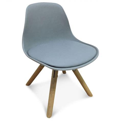 chaise gris chaise scandinave enfant gris marmaille