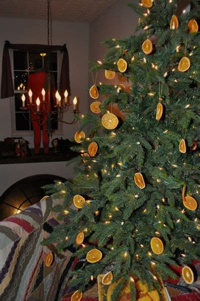 christmas tree smells like oranges the spotted hare a simple still