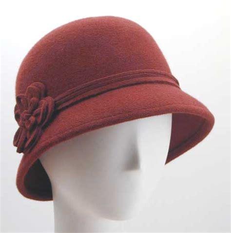 Felt Cloche Hat couture creations store s felt hats