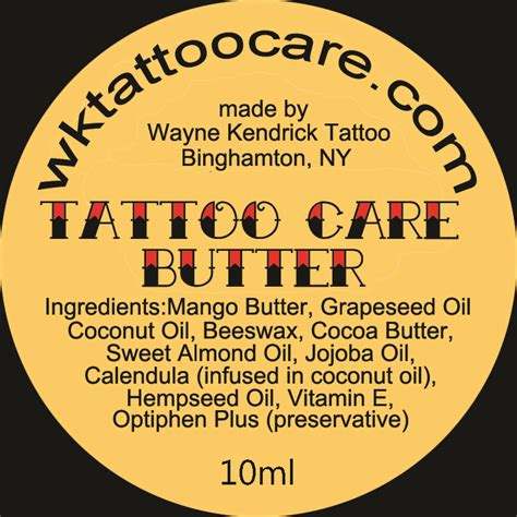 tattoo aftercare butter acadiana tattoo click on the following link to print