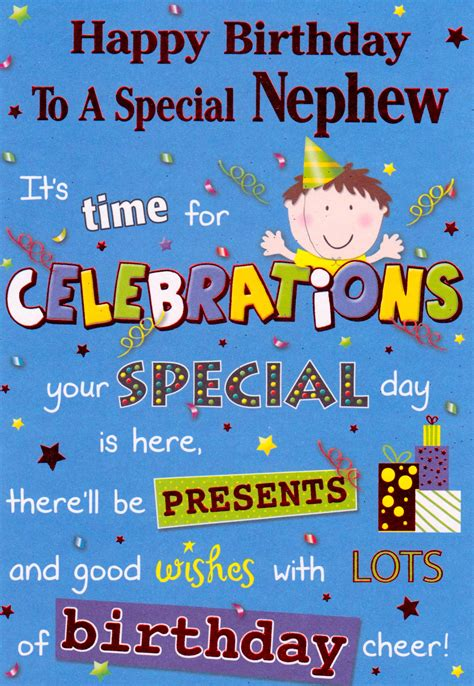 Birthday Wish For Nephew Quotes Birthday Wishes For Nephew Page 6