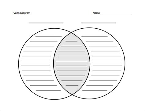venn diagram template pdf 8 blank venn diagram templates free sle exle
