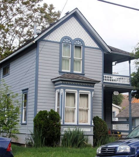 Queen Anne Victorian House h w and lucinda ross blue victorian house folk