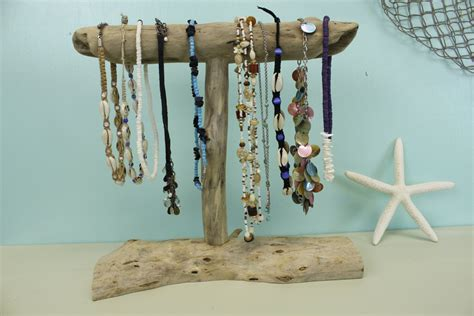 driftwood jewelry holder necklace display jewelry stand