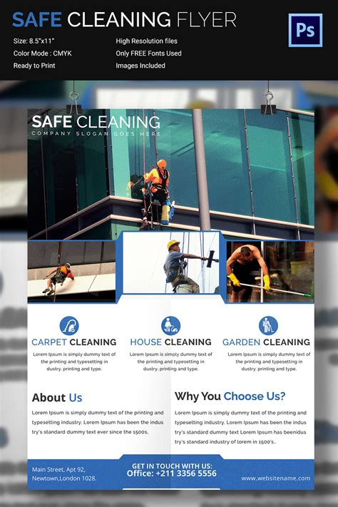 Cleaning Brochure Templates Free 2 The Best Templates Collection Flyers Templates Free 2