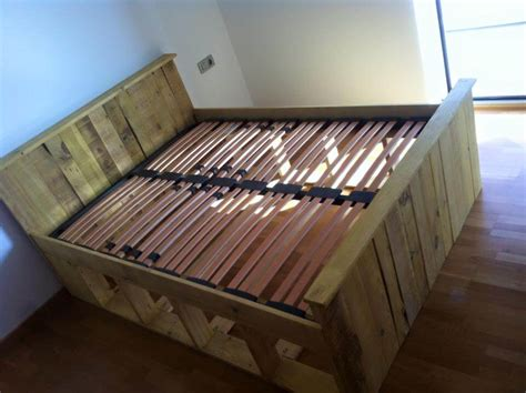 Pallet Bed Frame Diy Pallets Wood Bed Frame 101 Pallets