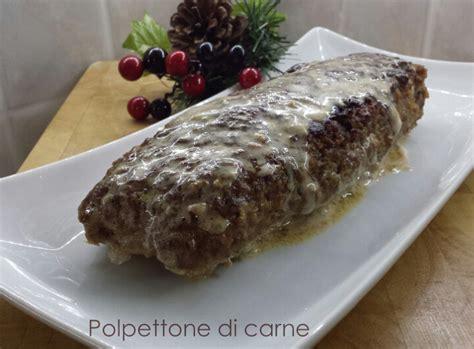 cucinare polpettone di carne polpettone di macinato di carne ricetta