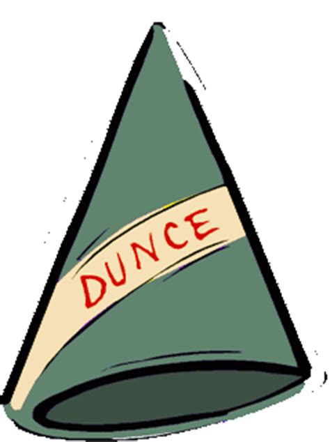 dunce hat template to hell with it it s just mie national dunce day