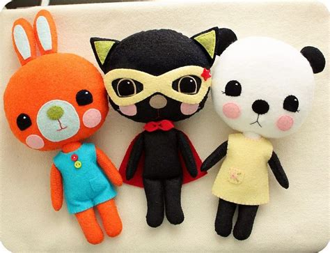 Handmade Plush Toys - handmade plush toys 187 amazing pictures for you