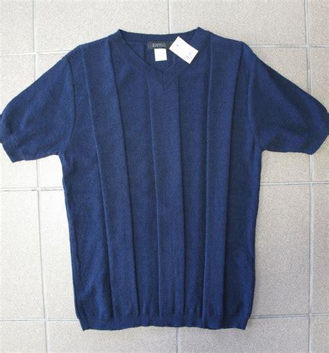 Sell Barneys Gift Card - men s v neck sweater short sleeves barneys new york navy blue made italy sz m ebay