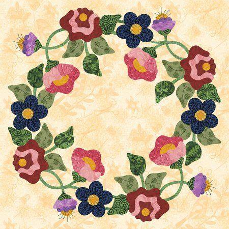 Floral Applique Quilt Patterns by 244 Best Applique Blocks Images On Civil War