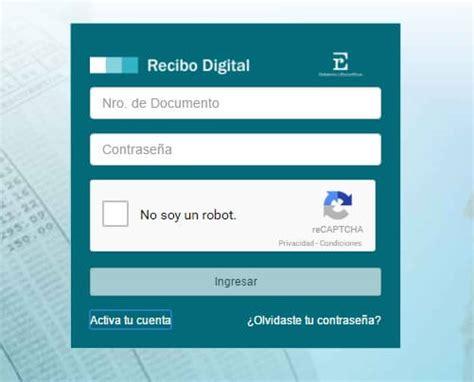 recibo de haberes digital ministerio de gobierno los 3 pasos a seguir para acceder al recibo digital