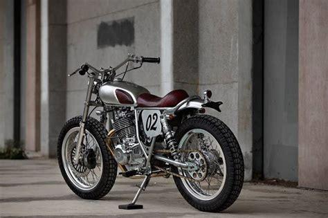 Motorrad Suzuki Garage by Suzuki Grass Tracker 250 Rocketgarage Cafe Racer