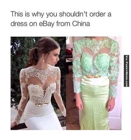 Meme Dress - how to order a wedding gown from china that isn t a