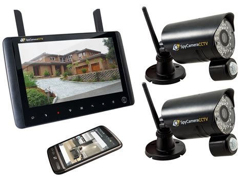 2 wireless home cctv security system 720p hd