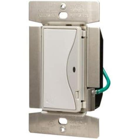 eaton aspire 8 rf single pole rocker wireless light switch white satin rf9518ws the home
