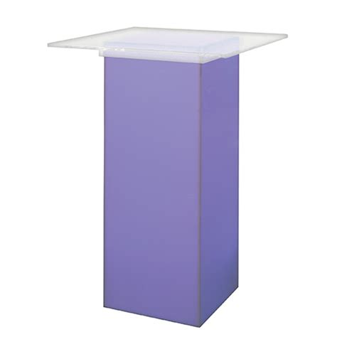 led acrylic high top table ttdrentals