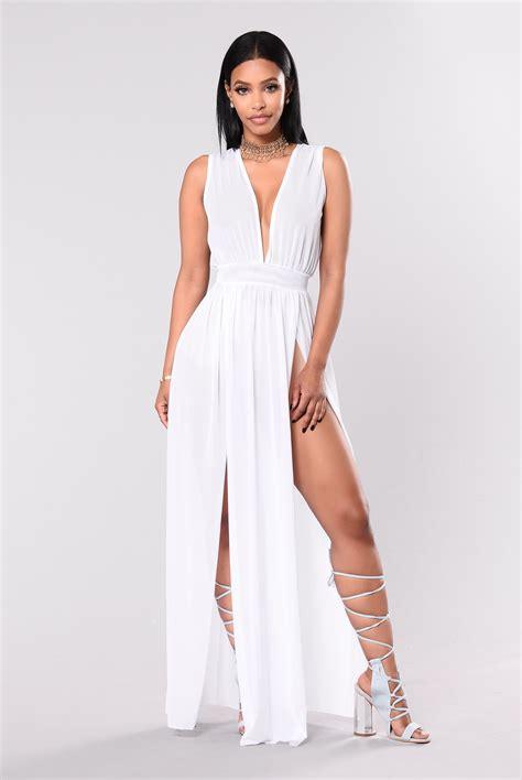 White Style Wardrobe - talkin no more dress white