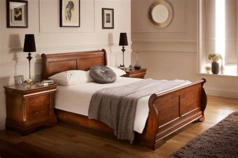 dark wood bed louie dark wooden sleigh bed wooden sleigh beds wooden