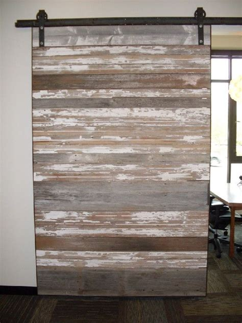 Reclaimed Sliding Barn Doors Reclaimed Sliding Barn Door Basement Bars Pinterest